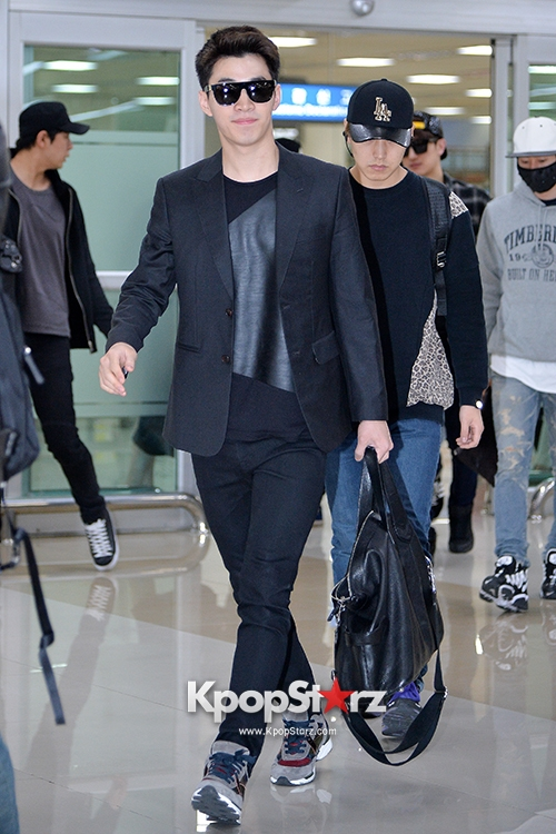 140416 Official, Super Junior-M at Gimpo Airport (from Beijing) by kpopstarz  (2)