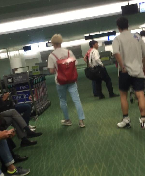 150703 heechul at haneda airport3